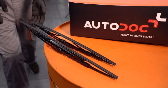 How to change Wiper Blades on Twingo c06 1993 - free PDF and video manuals
