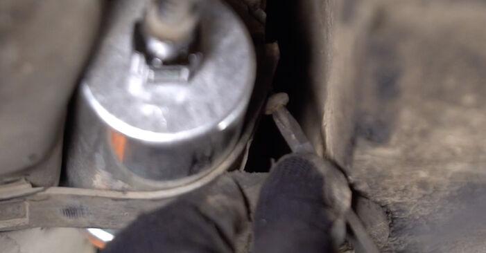 Tauschen Sie Kraftstofffilter beim Twingo c06 2003 1.2 selber aus