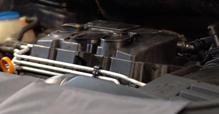 Recommandations étape par étape pour remplacer soi-même Touran 1t1 1t2 2008 1.6 FSI Filtre à Carburant