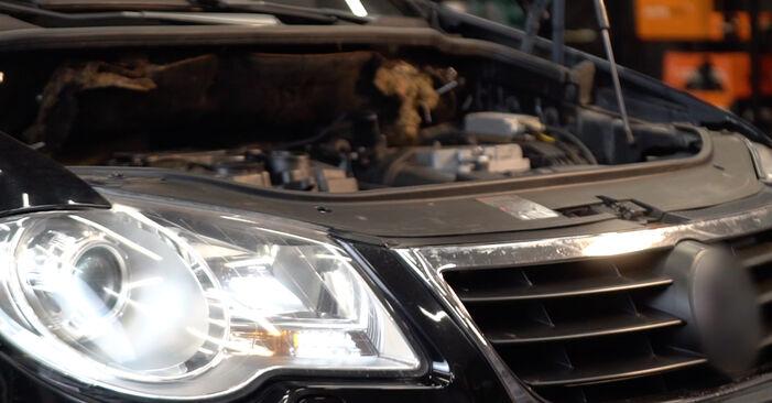 Faites-le vous-même : tutoriel en ligne pour le changement de VW TOURAN Filtre à Carburant