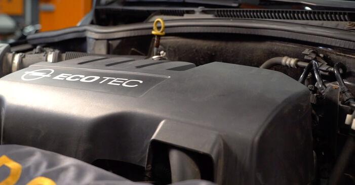 Opel Corsa C 2003 1.7 DTI (F08, F68) Olajszűrő csináld magad csere - javaslatok lépésről lépésre