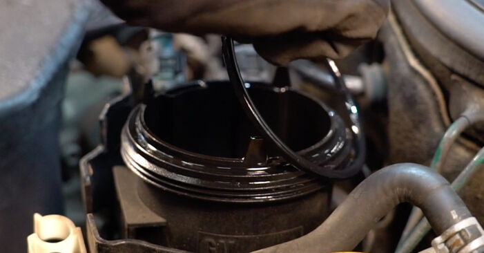 Corsa C Hatchback (X01) 1.7 DTI (F08, F68) 2001 Degvielas filtrs patstāvīgas nomaiņas remonta rokasgrāmata
