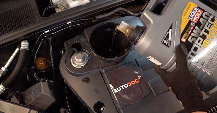 Как да сменим AUDI A4 Avant (8E5, B6) 1.9 TDI 2001 Маслен филтър - стъпка по стъпка инструкции и видео ръководства