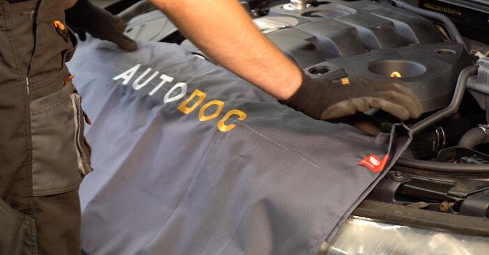 Wie Kraftstofffilter AUDI A4 Avant (8E5, B6) 2.5 TDI quattro 2001 austauschen - Schrittweise Handbücher und Videoanleitungen
