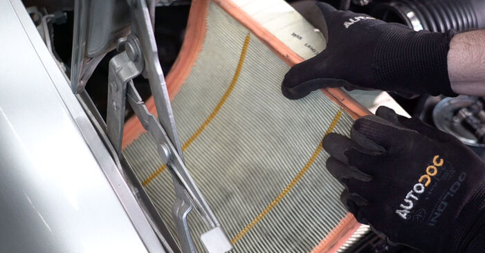 Changing of Air Filter on Mercedes W638 Minibus 1996 won't be an issue if you follow this illustrated step-by-step guide