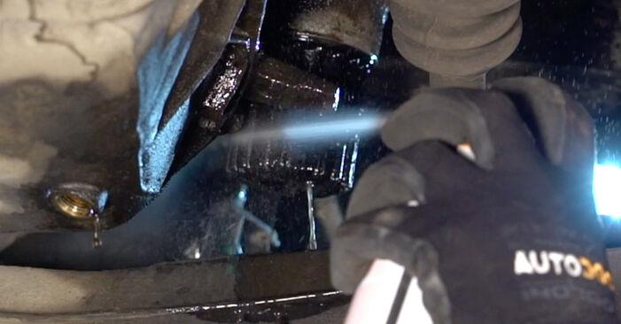 Zamenjajte Oljni filter na Renault Clio 2 2008 1.2 sami