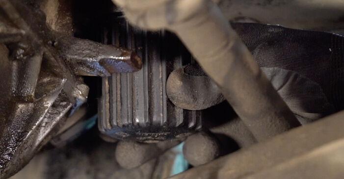 CLIO II (BB0/1/2_, CB0/1/2_) 1.4 2009 Oljni filter DIY menjava, priročnik delavnice