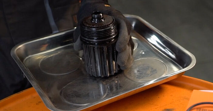 Cómo cambiar Filtro de Aceite en un RENAULT CLIO II (BB0/1/2_, CB0/1/2_) 2010 - consejos y trucos
