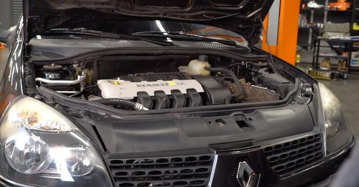 Hinweise des Automechanikers zum Wechseln von RENAULT CLIO II (BB0/1/2_, CB0/1/2_) 1.5 dCi 2012 Zündkerzen