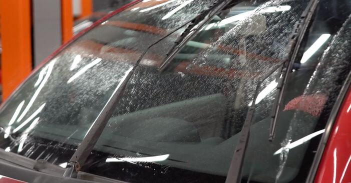 Zamenjajte Metlica brisalnika stekel na CITROËN C3 I Hatchback (FC_, FN_) 1.6 16V 2005 sami