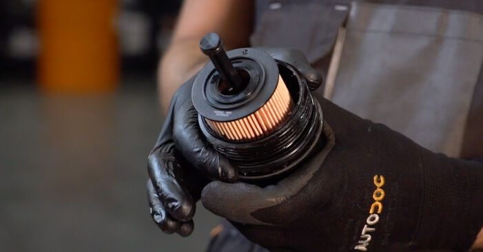 Kuinka vaihtaa Öljynsuodatin CITROËN C3 I Hatchback (FC_, FN_) 2014 -autoon - vinkkejä