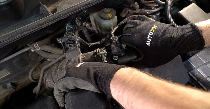 Kuinka vaikeaa on tehdä itse: Ilmansuodatin-osien vaihto Toyota RAV4 III 2.0 4WD 2011 -autoon - lataa kuvitettu opas