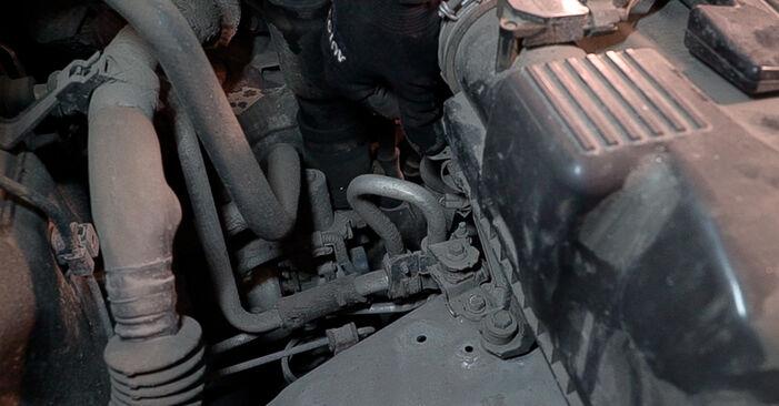 Luftfilter Toyota Prado J120 3.0 D 2004 wechseln: Kostenlose Reparaturhandbücher