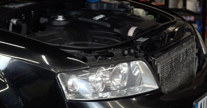 Wie Luftfilter Audi A4 B6 Avant 1.9 TDI 2000 tauschen - Kostenlose PDF- und Videoanleitungen