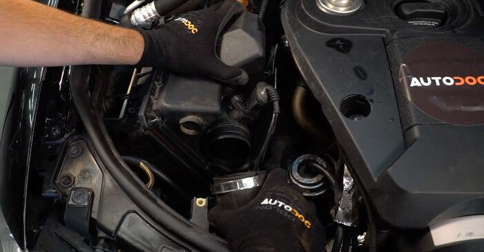 Schritt-für-Schritt-Anleitung zum selbstständigen Wechsel von Audi A4 B6 Avant 2003 2.5 TDI Luftfilter
