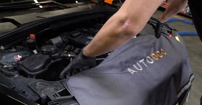 Kā nomainīt BMW 1 Coupe (E82) 120d 2.0 2007 Gaisa filtrs - pakāpeniskās rokasgrāmatas un video ceļveži
