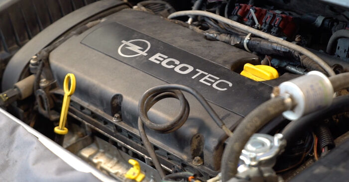 How to remove OPEL ZAFIRA 1.6 CNG (M75) 2009 Spark Plug - online easy-to-follow instructions