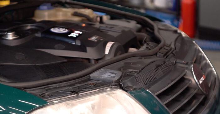 Wie Luftfilter Passat 3B6 1.9 TDI 1996 tauschen - Kostenlose PDF- und Videoanleitungen