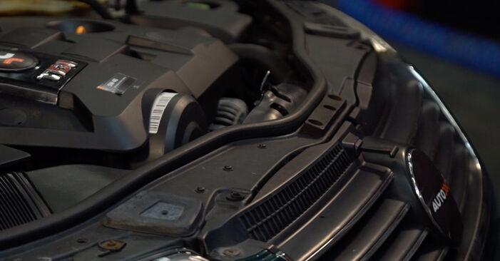 Luftfilter Passat 3B6 1.9 TDI 4motion 1998 wechseln: Kostenlose Reparaturhandbücher