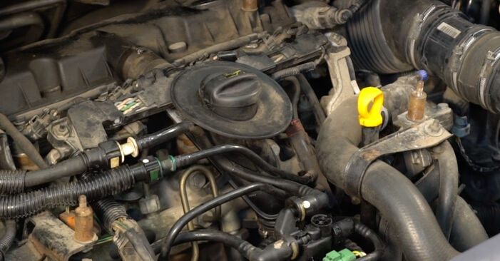 Changing Fuel Filter on CITROËN XSARA PICASSO (N68) 1.6 2000 by yourself