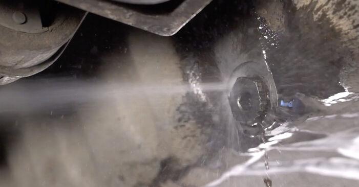 XSARA PICASSO (N68) 1.6 16V 1999 Ölfilter - Wegleitung zum selbstständigen Teileersatz
