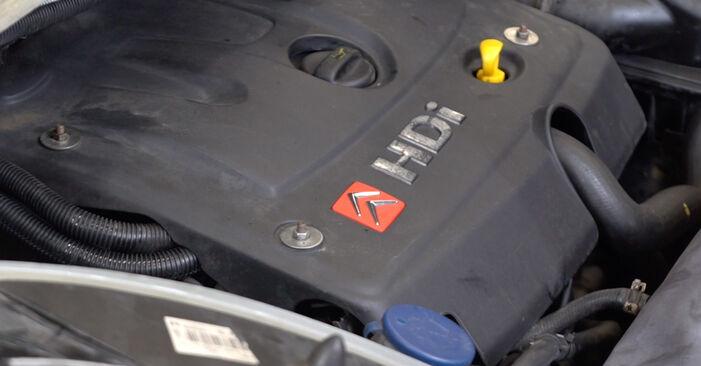 Wie man CITROËN XSARA 1.6 16V 2001 Ölfilter wechselt – Leicht verständliche Wegleitungen online