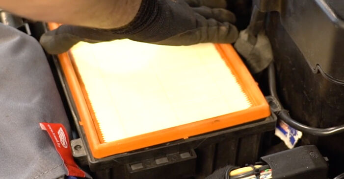 Jak dlouho trvá výměna: Vzduchovy filtr na autě Peugeot 206 cc 2d 2006 - informační PDF návod