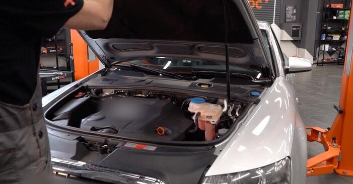 Wymiana Filtr powietrza Audi A6 4f2 2004 - darmowe instrukcje PDF i wideo
