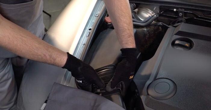 AUDI A6 2.4 Filtr powietrza wymiana: przewodniki online i samouczki wideo