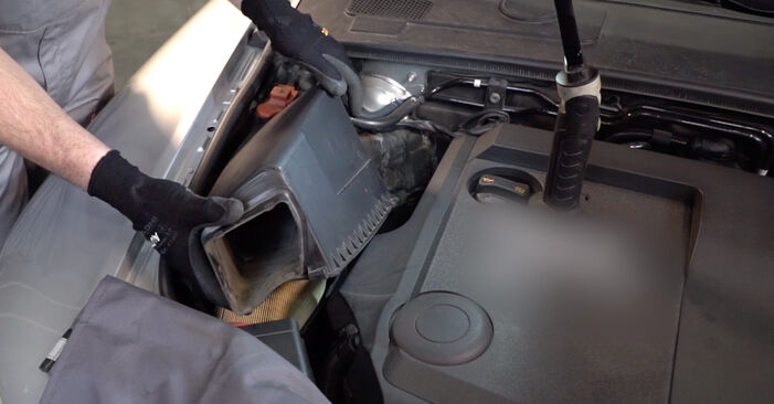 Wymień samodzielnie Filtr powietrza w AUDI A6 Sedan (4F2, C6) 2.7 TDI 2007