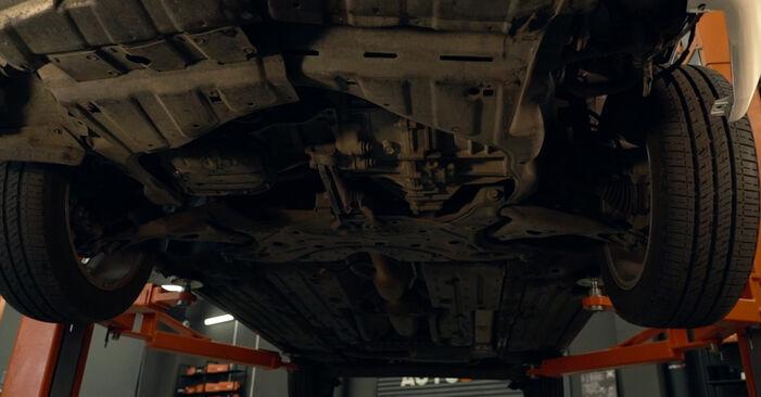 Ölfilter Toyota Prius 2 1.5 (NHW2_) 2002 wechseln: Kostenlose Reparaturhandbücher