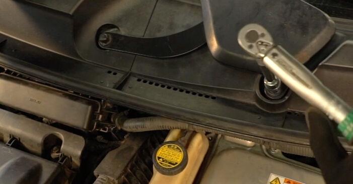 Schritt-für-Schritt-Anleitung zum selbstständigen Wechsel von Toyota Prius 2 2003 1.5 (NHW2_) Zündkerzen
