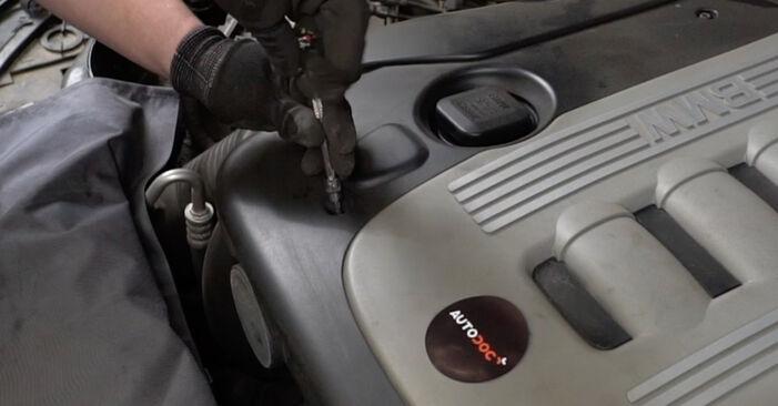 Wechseln Luftfilter am BMW 5 Limousine (E60) 520i 2.2 2004 selber