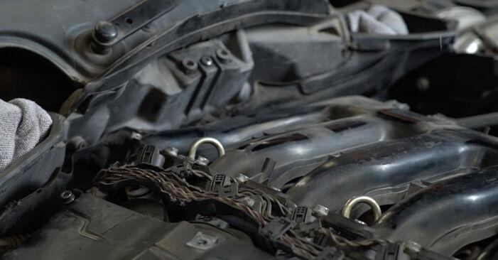 BMW 5 SERIES 520d 2.0 Luftfilter ausbauen: Anweisungen und Video-Tutorials online
