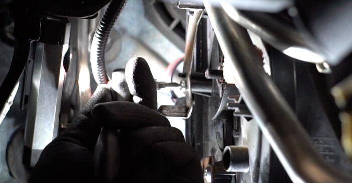 Schritt-für-Schritt-Anleitung zum selbstständigen Wechsel von Nissan Qashqai j10 2011 1.6 dCi Innenraumfilter