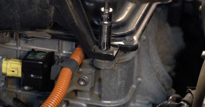Steg-för-steg-rekommendationer för att byta Lexus RX XU30 2004 3.5 Tändstift på egen hand