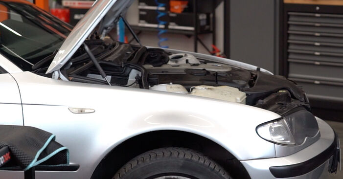 How to change Anti Roll Bar Links on BMW 3 Touring (E46) 1998 - free PDF and video manuals