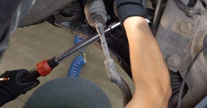 Austauschen Anleitung Koppelstange am Nissan Qashqai j10 2008 1.5 dCi selbst