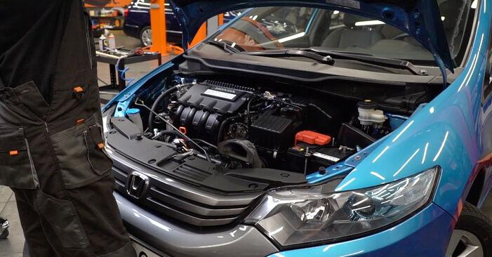 Wie Luftfilter Honda Insight ZE2/ZE3 1.3 Hybrid (ZE28, ZE2) 2009 tauschen - Kostenlose PDF- und Videoanleitungen
