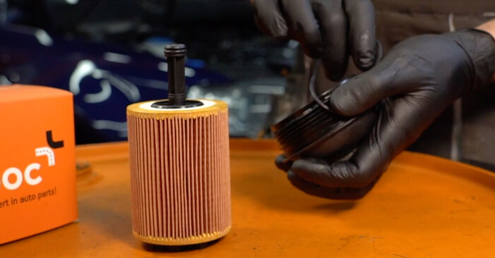 Ölfilter beim VW PASSAT 1.6 TDI 2006 selber erneuern - DIY-Manual