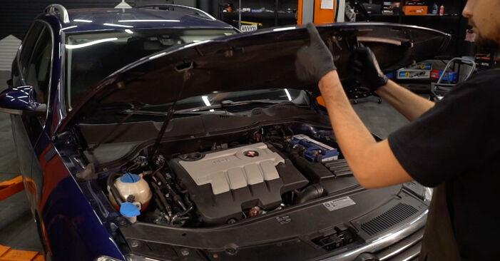 VW PASSAT 2.0 TDI 16V Ölfilter ausbauen: Anweisungen und Video-Tutorials online