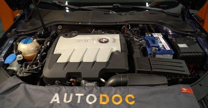Wie Kraftstofffilter Passat 3C 2.0 TDI 2005 tauschen - Kostenlose PDF- und Videoanleitungen