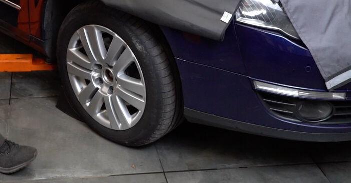Kuidas asendada VW Passat Variant (3C5) 2.0 TDI 2006 Piduriketas - üksikasjalikud juhendid ja videojuhendid