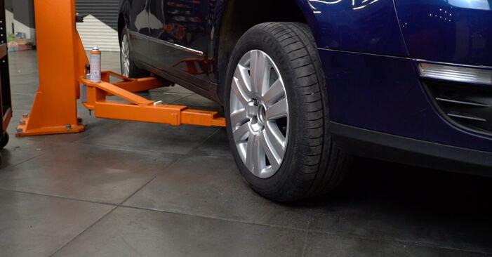 Kuidas vahetada välja VW Passat Variant (3C5) 2010 Piduriketas: laadige alla kasutusjuhendid PDF vormis ja video juhised