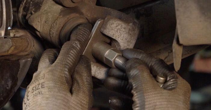 VW PASSAT 2.0 TDI Brake Discs replacement: online guides and video tutorials