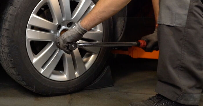 Changing of Brake Pads on Passat 3C 2007 won't be an issue if you follow this illustrated step-by-step guide