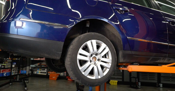 Zweckdienliche Tipps zum Austausch von Stoßdämpfer beim VW Passat Variant (3C5) 1.9 TDI 2007