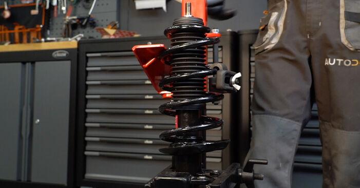 Passat Variant (3C5) 2.0 TDI 4motion 2010 Springs DIY replacement workshop manual