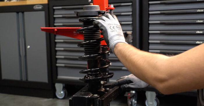 How to change Springs on Passat 3C 2005 - free PDF and video manuals