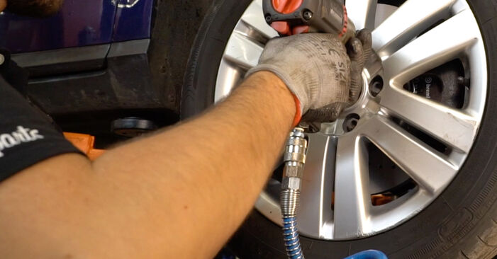 Changing of Springs on Passat 3C 2007 won't be an issue if you follow this illustrated step-by-step guide